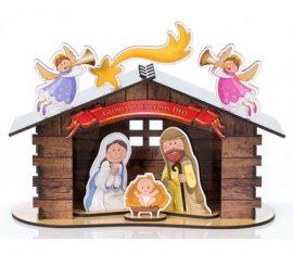 Parafialny konkurs plastyczny na szopkę bożonarodzeniową
